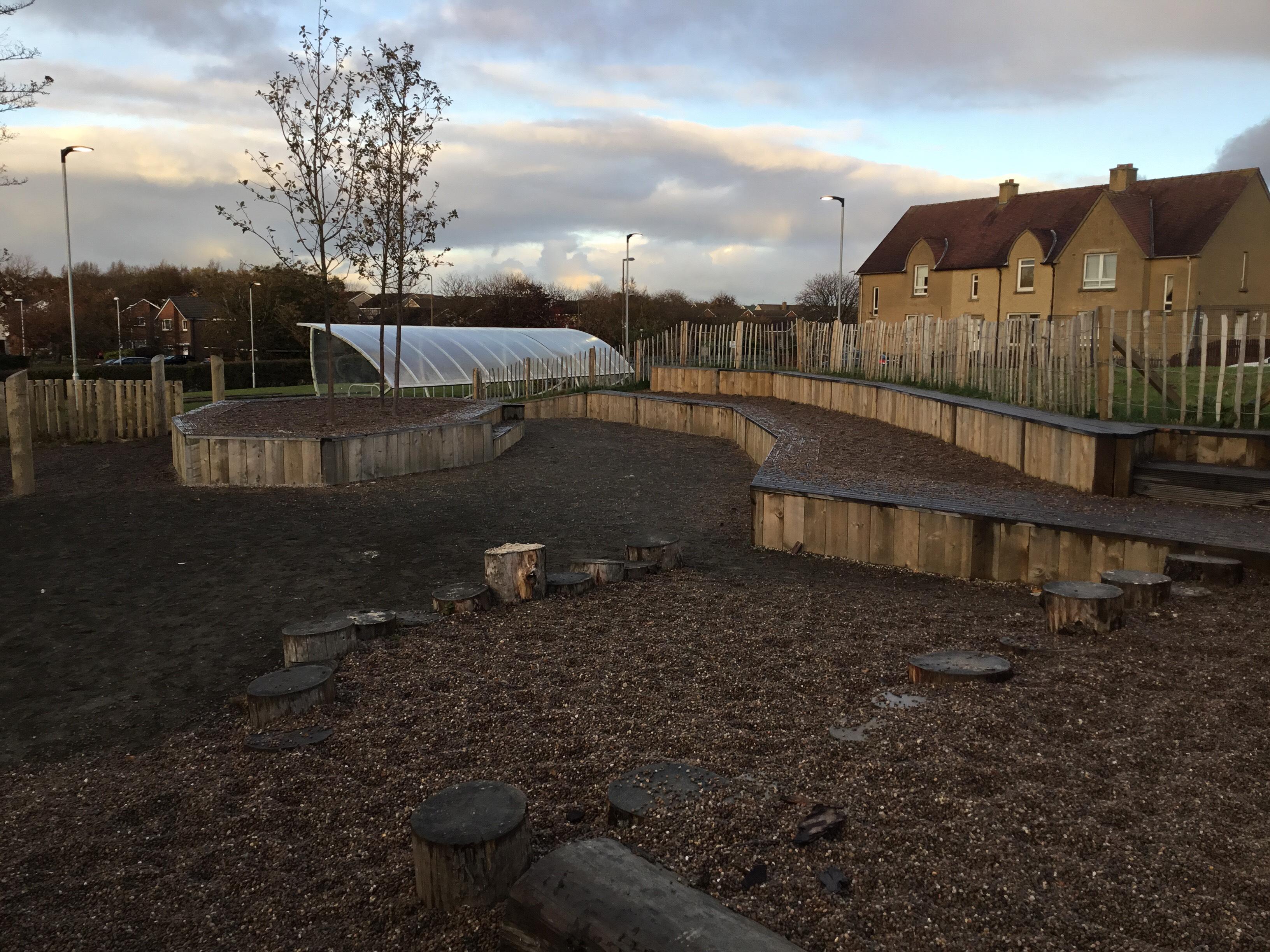School Playground Kirkliston Primary School Kirkliston Nursery